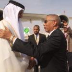 Arrivée Emir du Qatar à Nouakchott