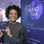 Michaelle Jean au lancement du Grand Tour 2017