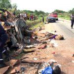 Mauritanie, Akjoujt, accident de la route