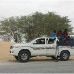 Mauritanie, accident de la route