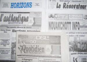 Journaux Mauritaniens