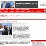 Capture d'écran – Article RFI publié le 4/8/2005 par Monique Mas