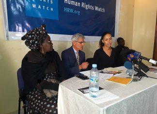 Image conférence de presse HRW - 12 février 2018 à Nouakchott - copyright Amadou Sy/LeReflet.NET