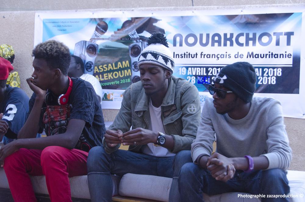 Vue des candidats au tremplin de Nouakchott : Photos ZaZa Productions