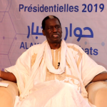 Le candidat à la présidentielle Kane Hamidou Baba