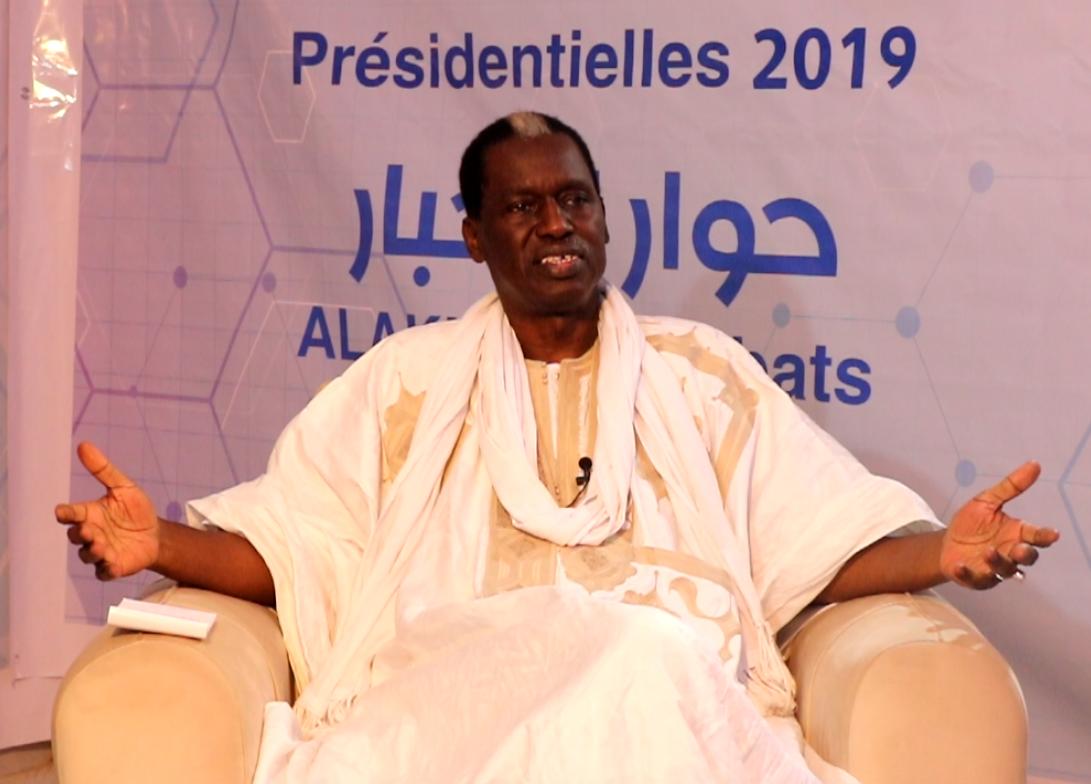 Le candidat Mohamed Lemine Mourtaji El Wavi