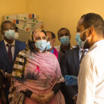 Octobre rose: Naha Mint Cheikh Sidiya visite la coordination Nouakchott Nord – Crédit Photo : DisinfoArt