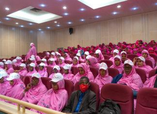 Des participants à la journée de sensibilisation et de dépistage du cancer du sein du MASEF