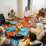 Le bureau du Parlement des enfants reçu par le représentant résident de l'UNICEF en Mauritanie