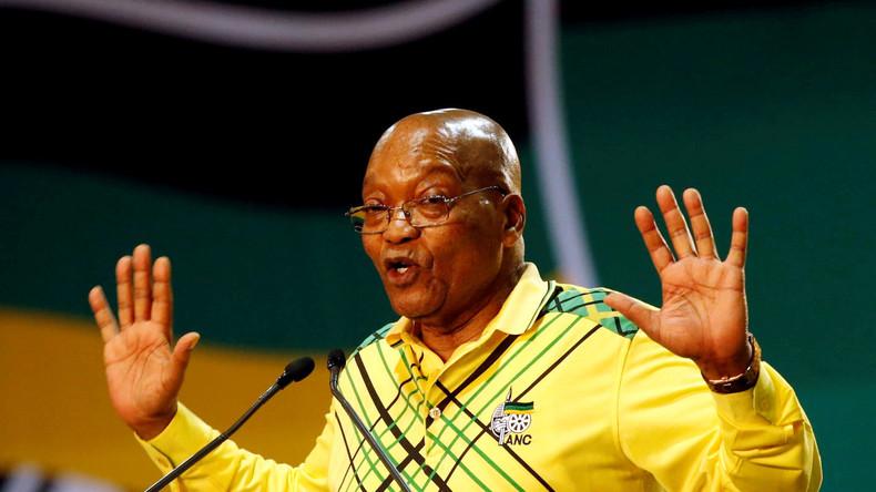 Jacob Zuma - Ex Président de l'Afrique du Sud