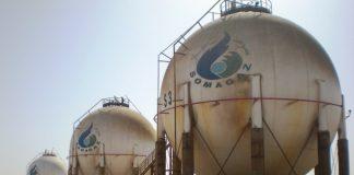 Site de la société nationale du gaz. SOMAGAZ.